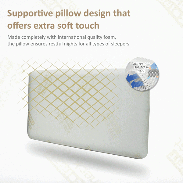 Coirfit Neck Rest Classik PU Foam Pillow
